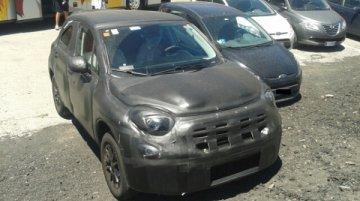 Fiat 500X - Spy