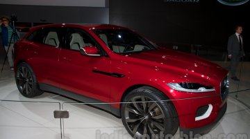 Moscow Live - Land Rover Discovery Vision Concept, Jaguar C-X17