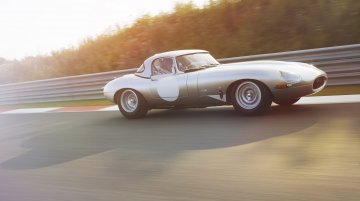 IAB Report - All-aluminium track-only Lightweight Jaguar E-Type revealed [Video]