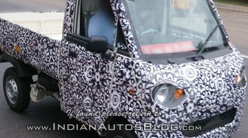 Spied - IAB reader catches the Mahindra P601 LCV on test