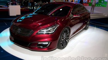 Suzuki Ciaz Concept at the 2014 Moscow Motor Show
