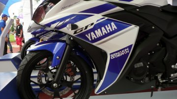 Yamaha R25 showcased in Vietnam