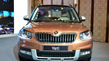 IAB Report - 2014 Skoda Yeti facelift launched at INR 18.63 lakhs [Gallery updated]