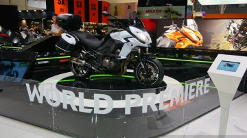 2015 Kawasaki Versys 1000 at the INTERMOT 2014