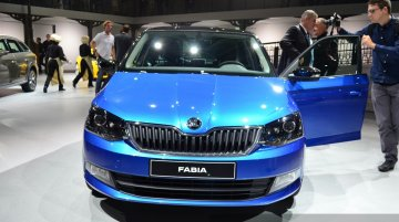 Paris Live - 2015 Skoda Fabia (Not-for-India)