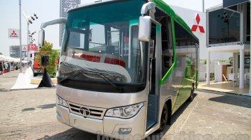 23-seat Tata LP 713 Bus at the 2014 Indonesia International Motor Show