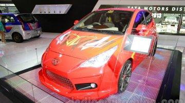 3-door Tata Vista Modified at the 2014 Indonesia International Motor Show
