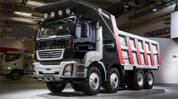 IAB Report - India-made BharatBenz 3143 mining truck concept & Fuso FJ 2528 R premiered at IAA 2014 Hannover