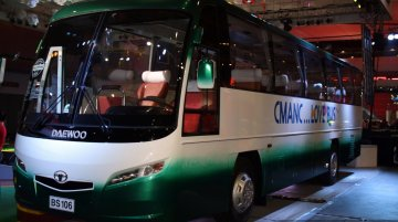 Philippines Live - Daewoo Bus BS 106