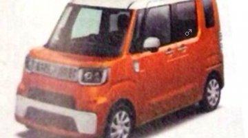 Report - Daihatsu's next gen tall-boy city car leaked