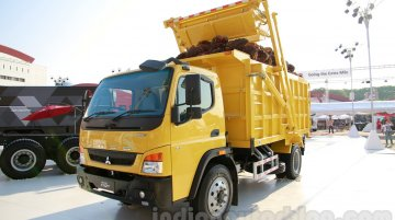 Indonesia Live - India-made 12T, 25T FUSO trucks unveiled