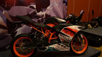In Images - KTM RC390 and RC200 with Style and Race design packages
