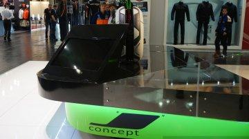 Kawasaki J-Concept at the INTERMOT 2014