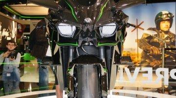 Kawasaki Ninja H2R at the INTERMOT 2014