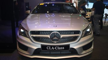 Mercedes Benz CLA at the 2014 Philippines Motor Show