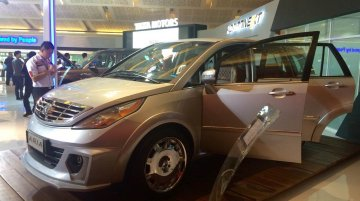 Modified Tata Aria at the 2014 Indonesia International Motor Show