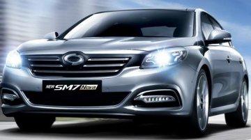 IAB Report - Renault Samsung SM7 facelift revealed for Korea