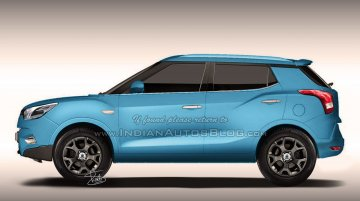 IAB Rendering - Ssangyong X100 (Ford EcoSport rival)