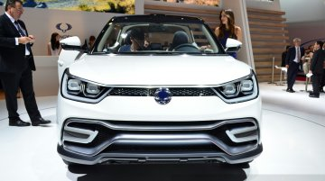 Ssangyong XIV-Air Concept at the 2014 Paris Motor Show