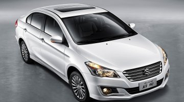 IAB Report - Chinese-spec Maruti Ciaz (Suzuki Alivio) gets sunroof, larger alloys and 1.6L engine