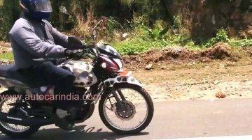 Spied - Indonesia-spec TVS Max 125 Adventure caught testing in India