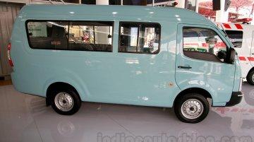 IAB Report - Tata Super Ace based 'Angkot' passenger van, Tipper shown at IIMS