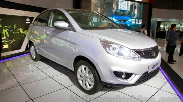 Tata Zest at the 2014 Indonesia International Motor Show