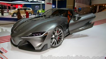 Indonesia Live - Toyota FT-1 concept with graphite exterior