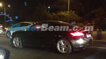 Spied - 2015 Audi TT tests in Mumbai ahead of next year's launch