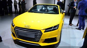 Paris Live - 2015 Audi TT Roadster