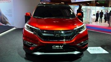 2015 Honda CR-V at the 2014 Paris Motor Show