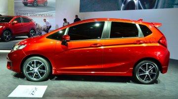 2014 Honda Jazz Prototype at the 2014 Paris Motor Show