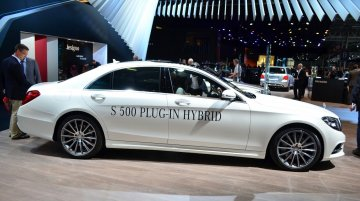 2014 Mercedes-Benz S500 Plug-in Hybrid at the 2014 Paris Motor Show