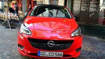 2015 Opel Corsa 3-door at the Paris Motor Show 2014