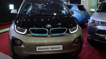 BMW i3 at the 2014 Colombo Motor Show