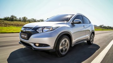 Brazil - Honda HR-V debuts at Sao Paulo Motor Show with 1.8L engine
