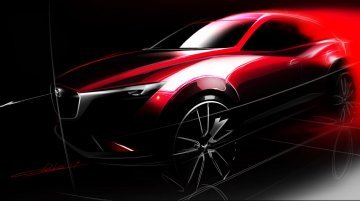 IAB Report - Mazda CX-3 compact SUV (EcoSport rival) teased ahead of LA debut