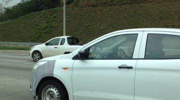 Brazil - India-bound new Ford Ka (new Figo) RHD spotted for the first time