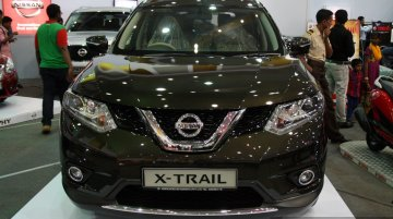 New Nissan X-Trail at the 2014 Colombo Motor Show