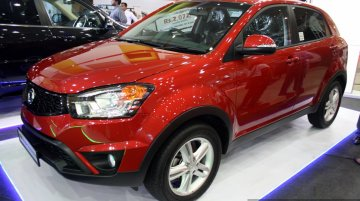 IAB Report - Ssangyong showcases Rexton, Rodius, Korando at the 2014 Colombo Motor Show
