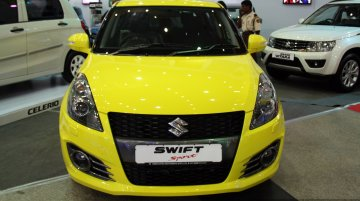 Suzuki Swift Sport at the 2014 Colombo Motor Show