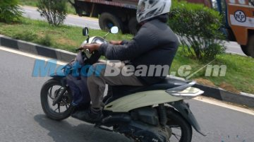Spied - Indonesia-spec TVS Dazz continues testing in India