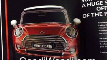 2014 Mini - Brochure Leak