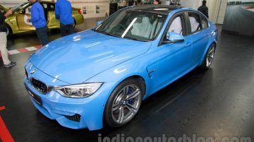 IAB Report - 2015 BMW M3 launched in India at INR 1.198 cr [Update]