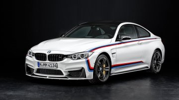 IAB Report - India-bound 2015 BMW M3 and M4 get M Performance accessories