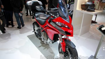EICMA 2014 Live - 2015 Ducati Multistrada 1200 with Testastretta DVT engine