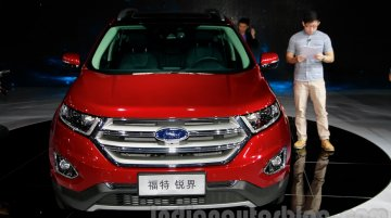 Guangzhou Live - Ford Edge long wheelbase with 7-seats