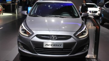 2015 Hyundai Accent at the 2014 Los Angeles Auto Show