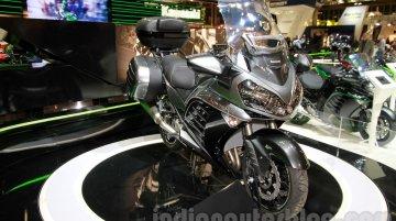EICMA 2014 Live - 2015 Kawasaki 1400 GTR