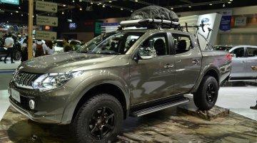 2015 Mitsubishi Triton accessorized at the 2014 Thailand International Motor Expo
